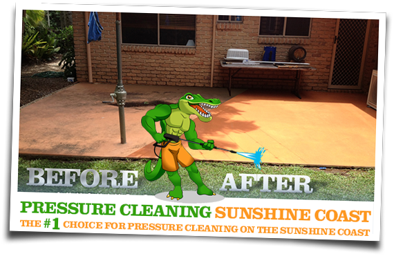 Pressure Cleaning Sunshine Coast Before and After 01