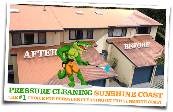 Pressure Cleaning Sunshine Coast Before and After 02
