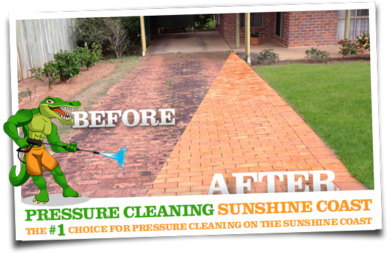 Pressure Cleaning Sunshine Coast Before and After 03