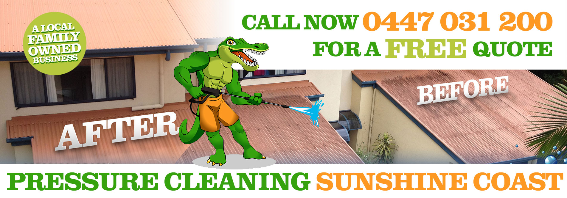 Pressure Cleaning Sunshine Coast Website Home Page Slide 03